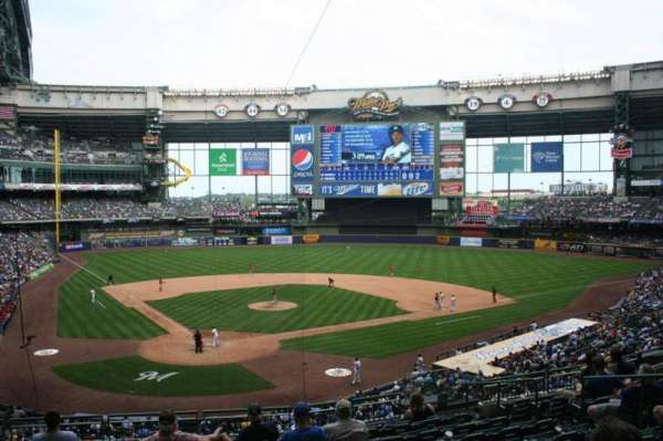 Miller Park, section: 217, row: 10, seat: 13