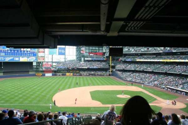 Miller Park, section: 224, row: 21, seat: 22
