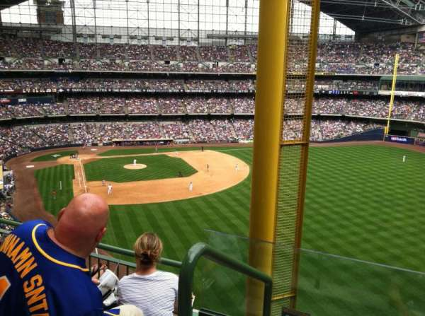 Miller Park, section: 404, row: 8, seat: 23