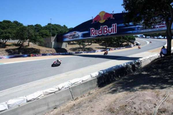 WeatherTech Raceway Laguna Seca, section: Turn 8a