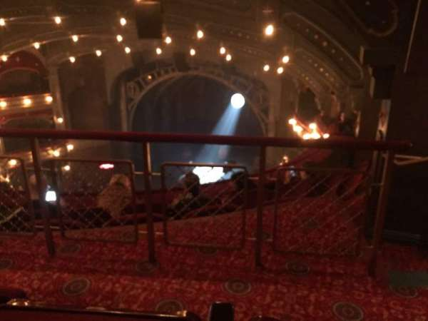 Lyric Theatre, section: Balcony, row: D, seat: 22-24