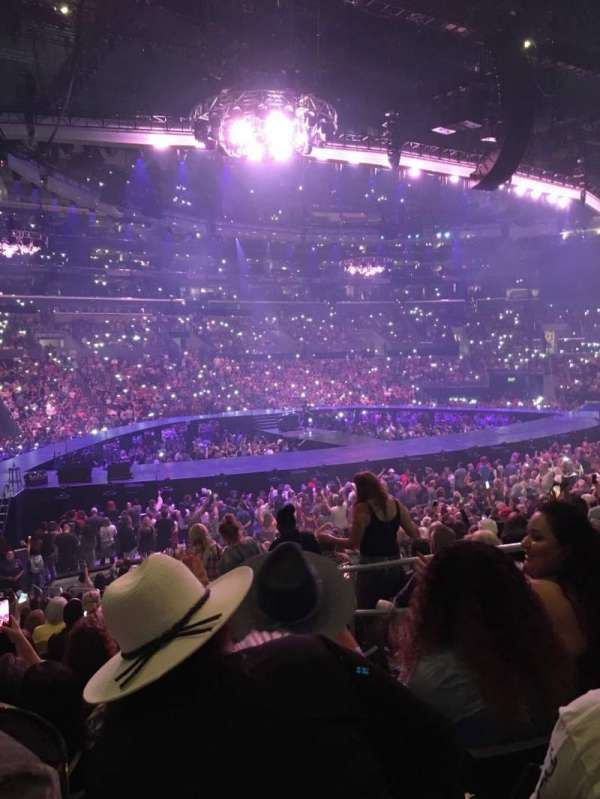 Staples Center, section: 103, row: 20, seat: 4