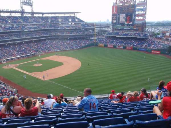 Citizens Bank Park, section: 309, row: 13, seat: 15