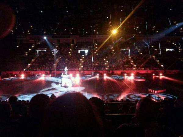 Royal Farms Arena, section: 209, row: C, seat: 2