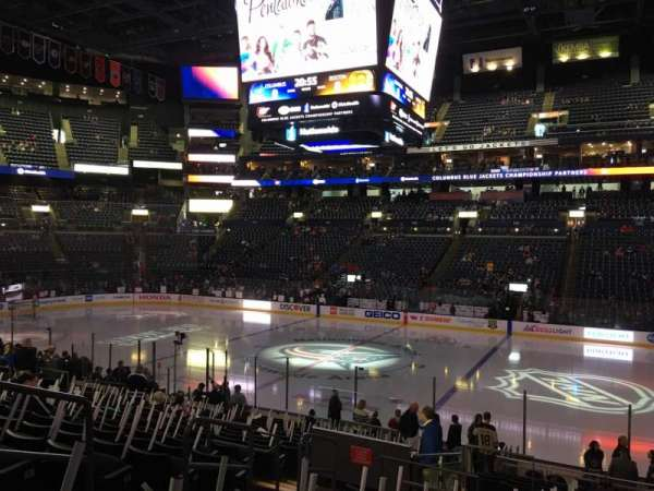 Nationwide Arena, section: 113, row: U, seat: 16