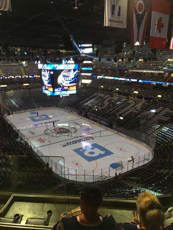 Nationwide Arena, section: 212, row: G, seat: 14