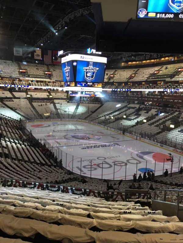 Nationwide Arena, section: 122, row: MM, seat: 7