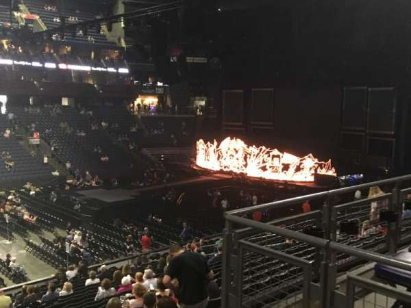 Nationwide Arena, section: 105, row: Y, seat: 1
