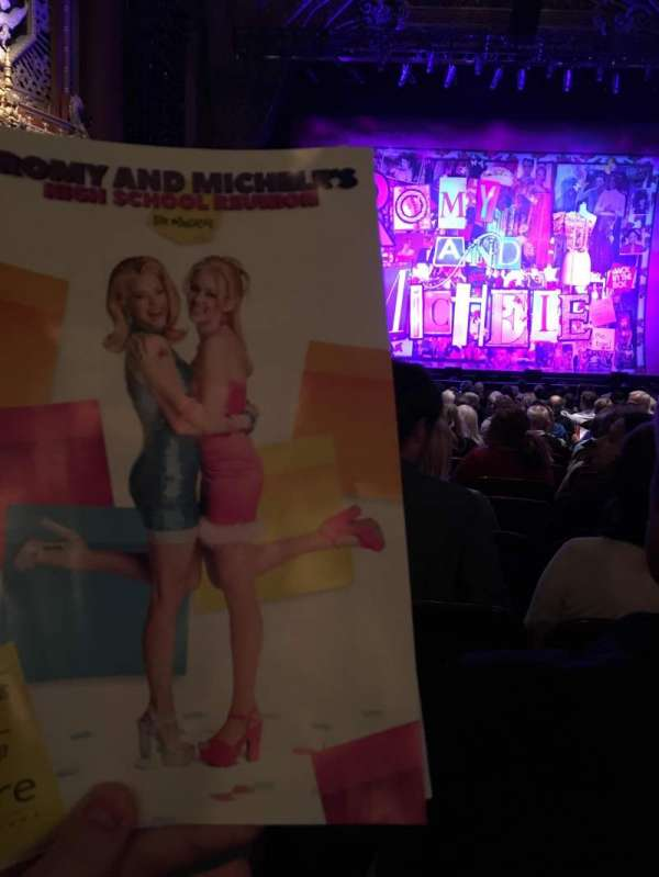 5th Avenue Theatre, section: Orchestra C, row: M, seat: 105