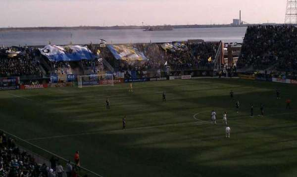 Talen Energy Stadium, section: Captain, row: Morgan, seat: Deck