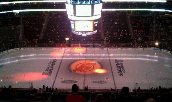 Prudential Center, section: 212, row: 3, seat: 7