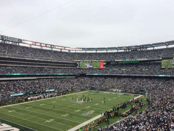 MetLife Stadium, section: 245A, row: 2, seat: 7