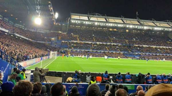Stamford Bridge, section: West Stand Lower 8, row: 10, seat: 212