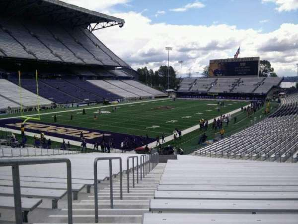 Husky Stadium, section: 114, row: 35, seat: 35