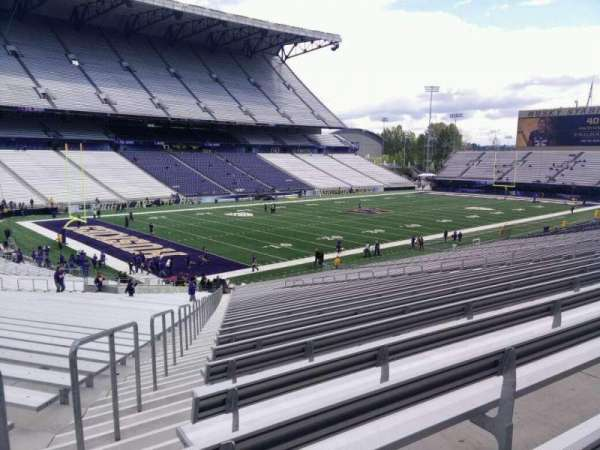 Husky Stadium, section: 111, row: 40, seat: 55