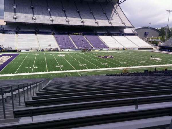 Husky Stadium, section: 108, row: 40, seat: 25