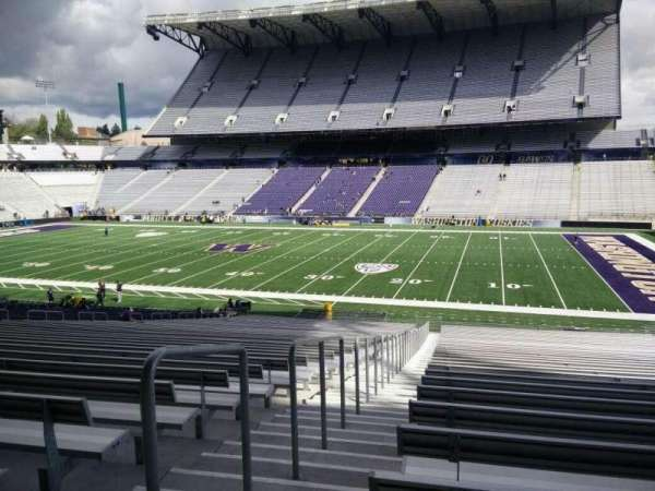Husky Stadium, section: 103, row: 40, seat: 25