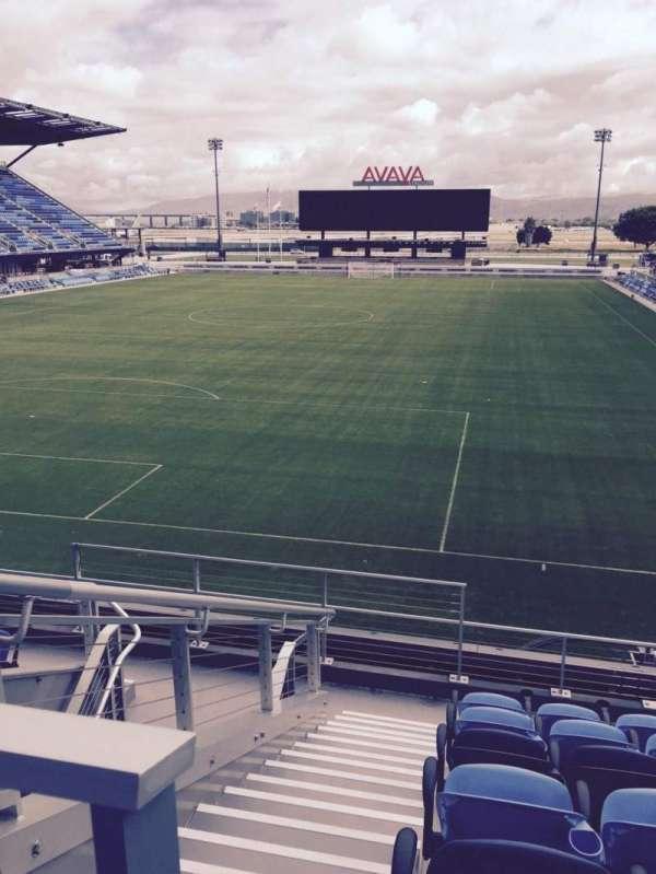 Avaya Stadium, section: 120, row: 9, seat: 14