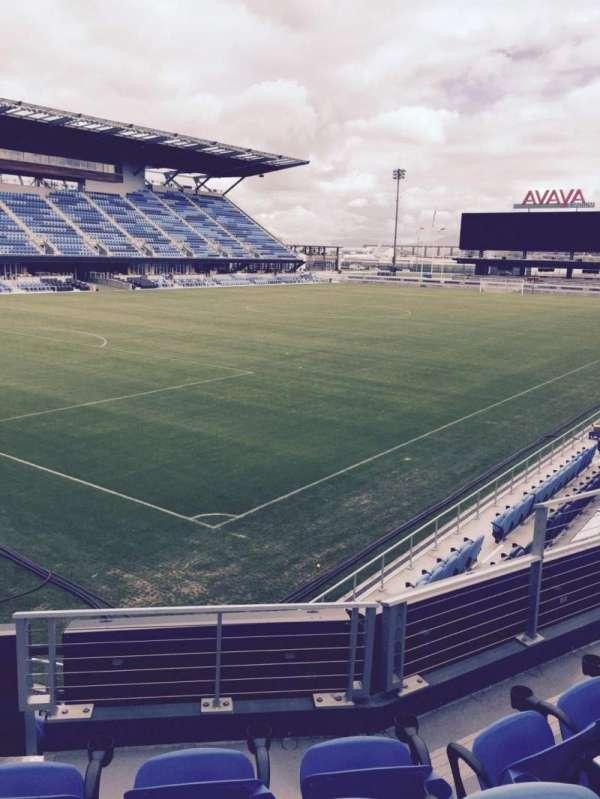 Avaya Stadium, section: 122, row: 4, seat: 7
