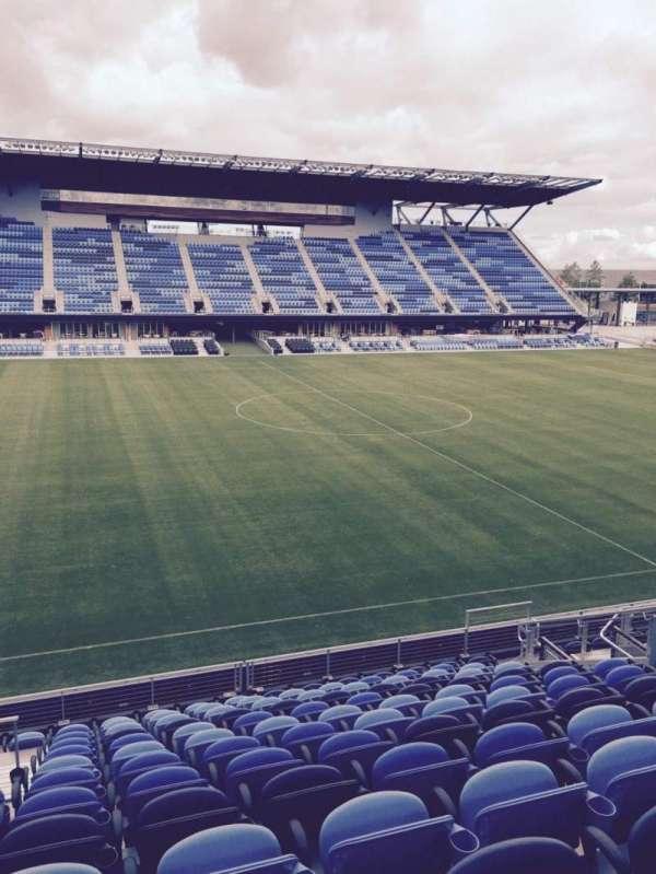 Avaya Stadium, section: 127, row: 13, seat: 12