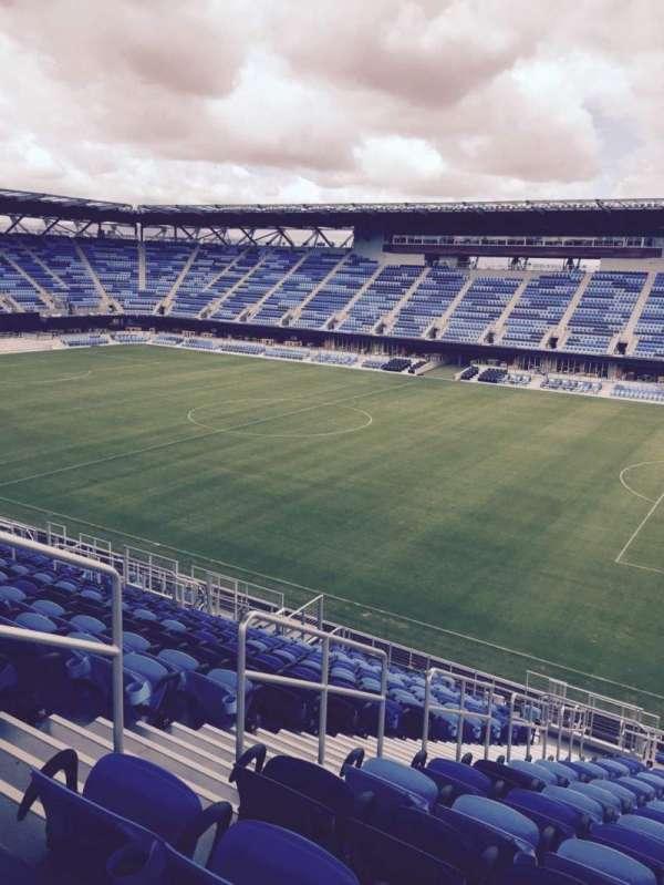 Avaya Stadium, section: 134, row: 21, seat: 21