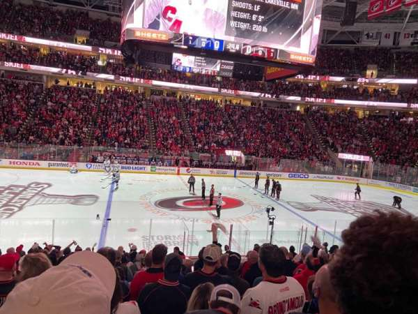 PNC Arena, section: 120, row: S, seat: 8