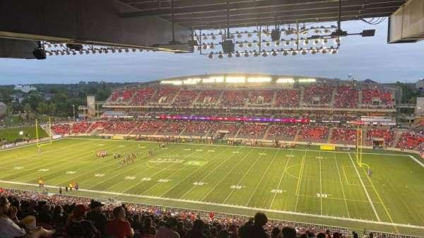 TD Place Stadium, section: CC, row: 23, seat: 11