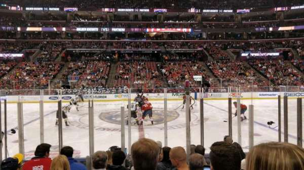 BB&T Center, section: 118, row: 8, seat: 7