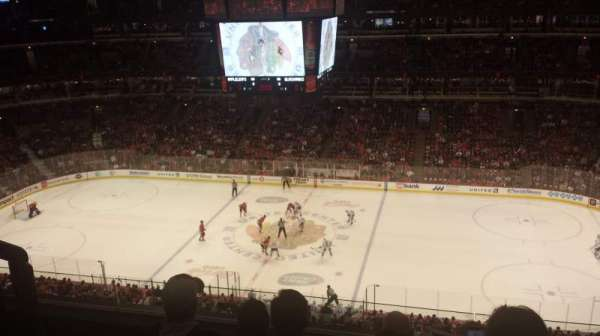 United Center, section: 333, row: 5
