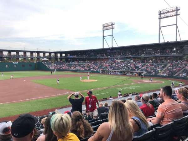 Huntington Park, section: 19, row: 16, seat: 8