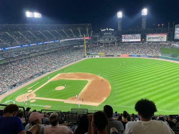 Guaranteed Rate Field, section: 520, row: 15, seat: 21