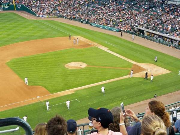 Comerica Park, section: 336, row: 8, seat: 19