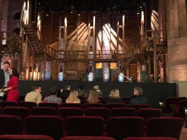 CIBC Theatre, section: Orchestra C Aisle 2, row: J, seat: 109, 110