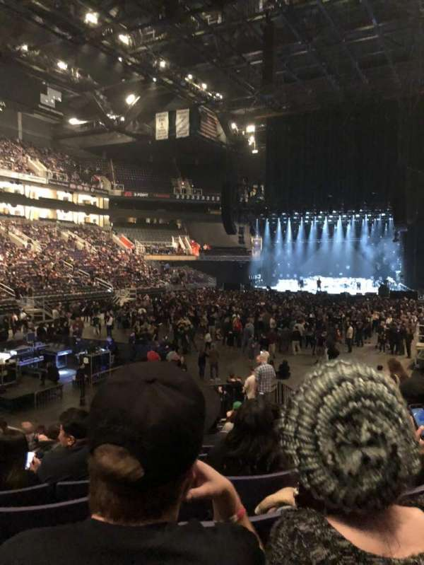 Talking Stick Resort Arena , section: 106, row: 16, seat: 7