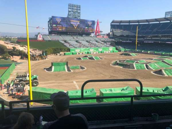 Angel Stadium, section: C306, row: C, seat: 16