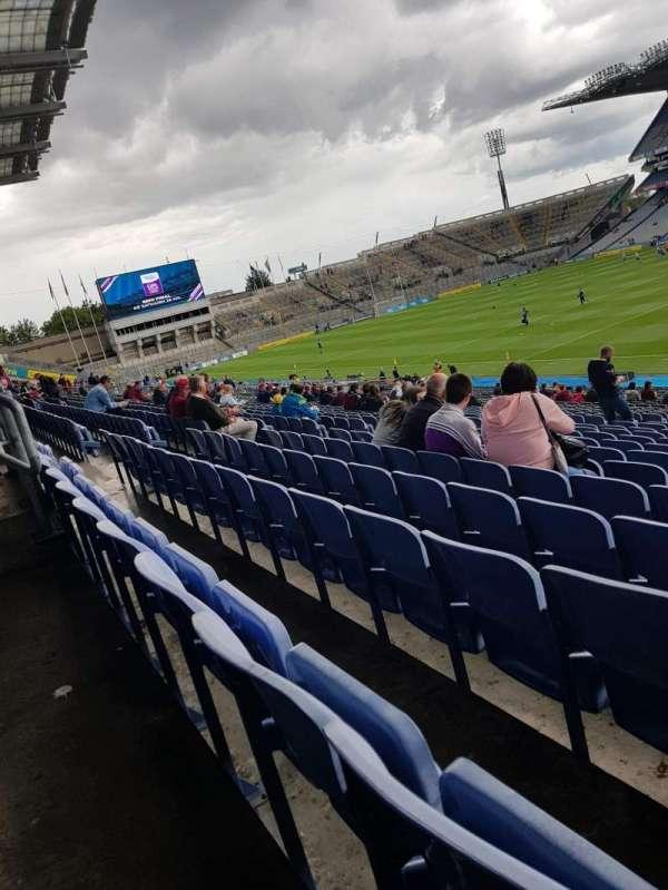Croke Park, section: 126, row: JJ, seat: 17