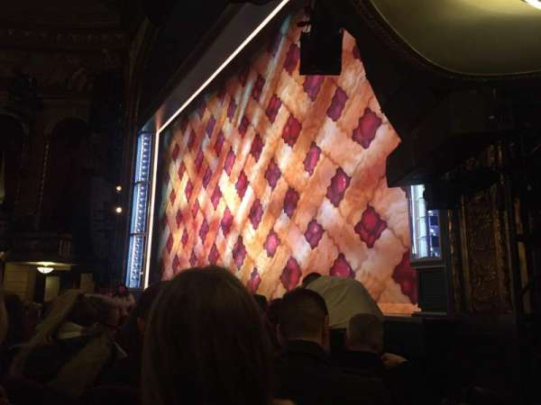 Brooks Atkinson Theatre, section: Orch, row: D, seat: 20