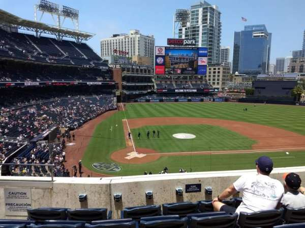 PETCO Park, section: 205, row: 5, seat: 4