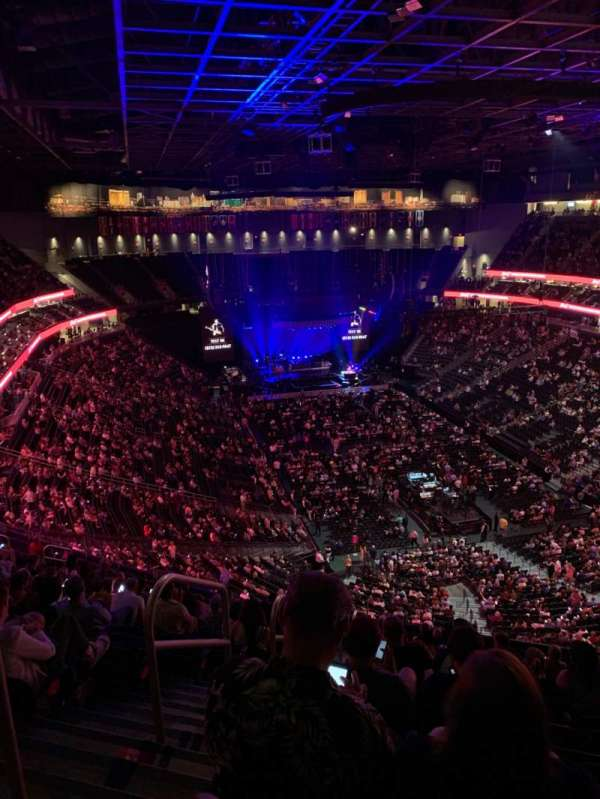 T-Mobile Arena, section: 212, row: Q, seat: 1,2
