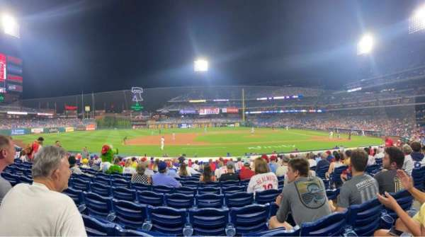 Citizens Bank Park, section: 131, row: 16, seat: 5