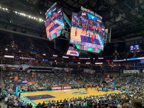 Spectrum Center, section: 116, row: N, seat: 7