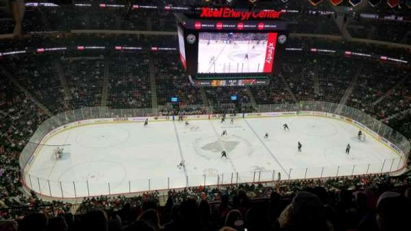 Xcel Energy Center, section: 205, row: 9, seat: 15