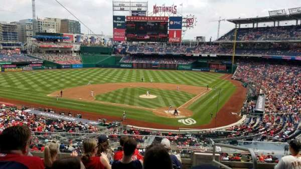 Nationals Park, section: 211, row: F, seat: 1