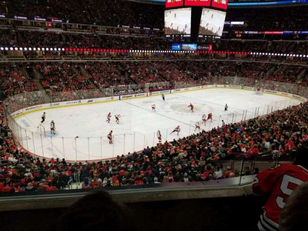 United Center, section: 221, row: 3, seat: 10