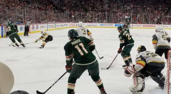 Xcel Energy Center, section: 123, row: 3, seat: 12