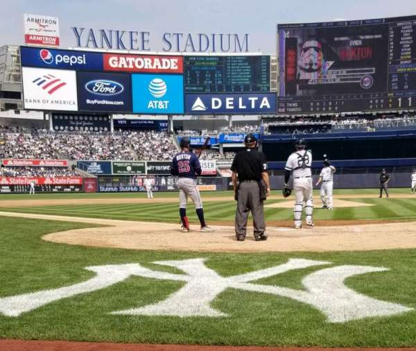 Yankee Stadium, section: Suite 19, row: 1, seat: 3,4