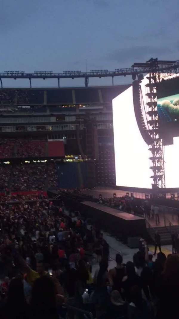Gillette Stadium, section: 128, row: 11, seat: 7