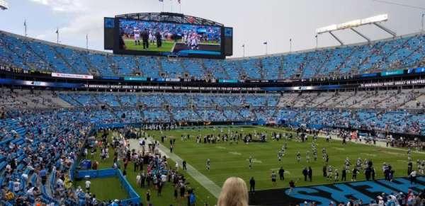 Bank of America Stadium, section: 233, row: 4, seat: 7