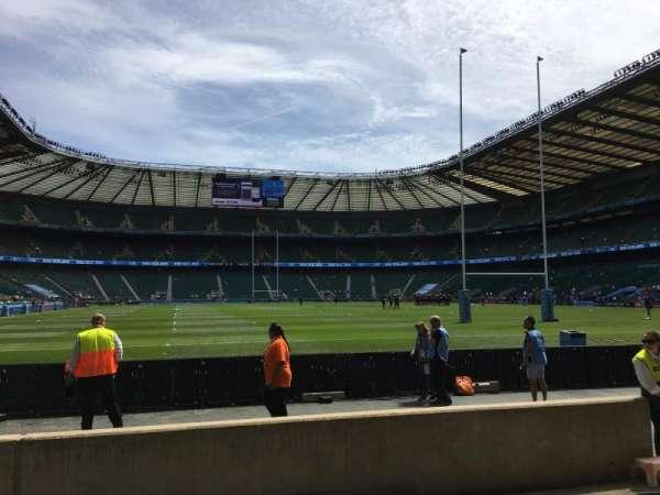 Twickenham Stadium, section: L16, row: 5, seat: 175