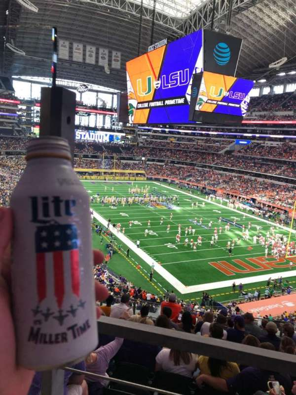 AT&T Stadium, section: 327, row: 11, seat: 39